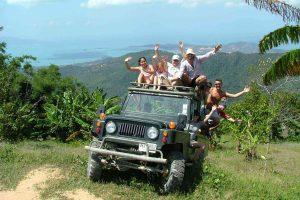 Jeep ride Koh Samui