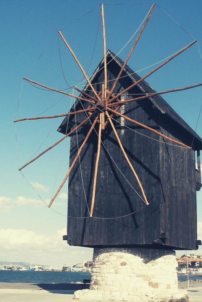 the nessebar windmill