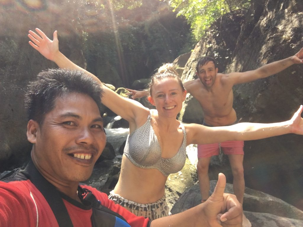 Secret canyoning Ubud