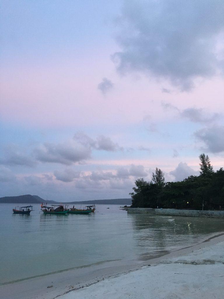 Koh Rong worth visiting sunset