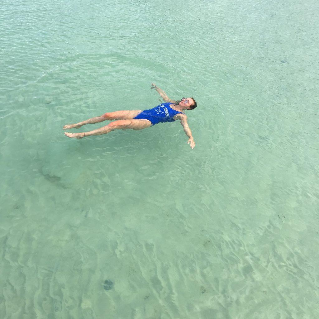 Koh Rong worth visiting swimming