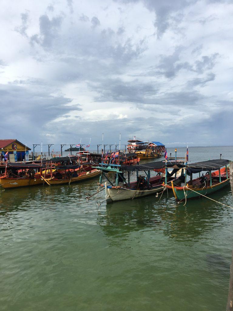 Koh Rong worth visiting pier