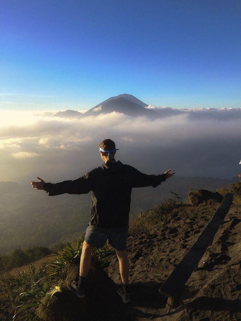 mount batur sunrise hike in Bali, Indonesia
