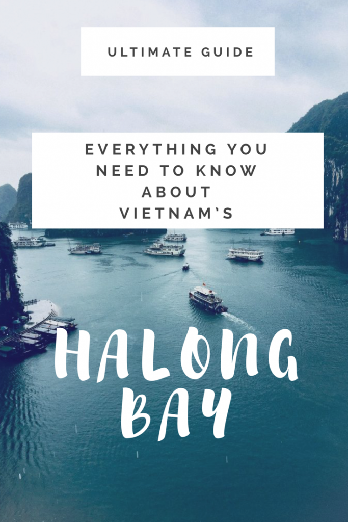 HALONG BAY CRUISE GUIDE, VIETNAM (ITINERARY) - 2019