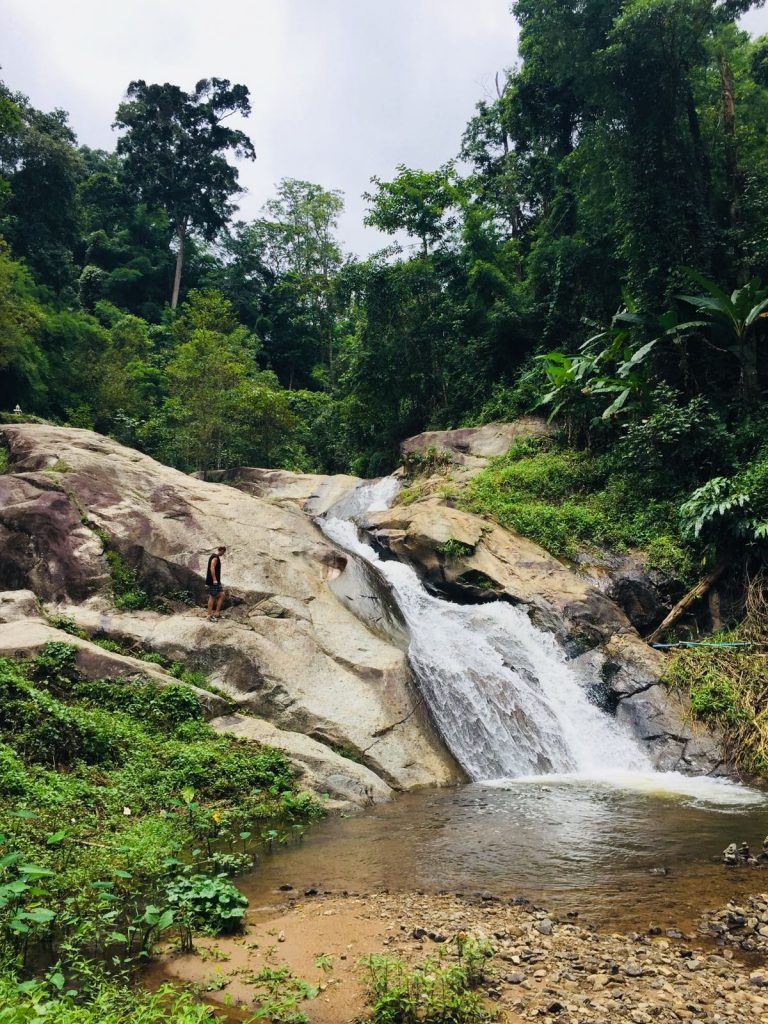 The Pai waterfall, things to do in pai, things to do in pai thailand, best things to do in pai, top things to do in pai, things to do in pai northern thailand, top 10 things to do in pai
