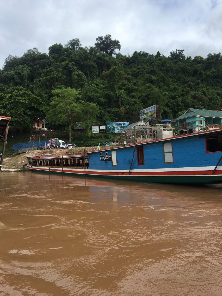 Luang Prabang to Chiang Mai by slow boat