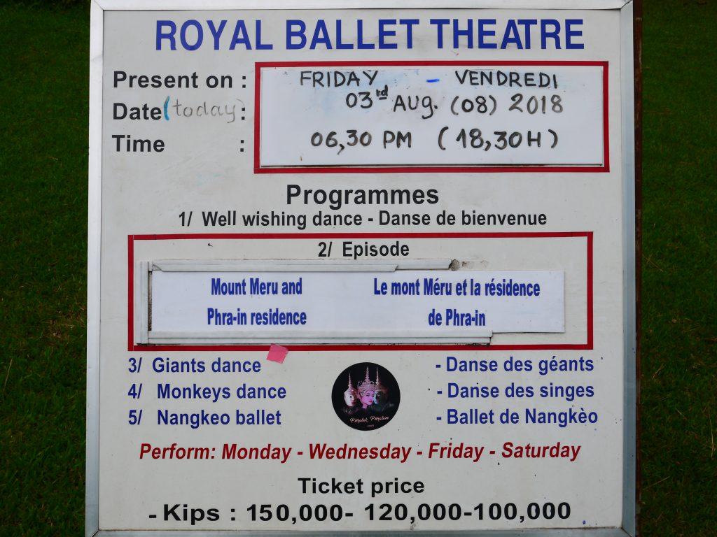 Luang Prabang Royal Ballet Theatre