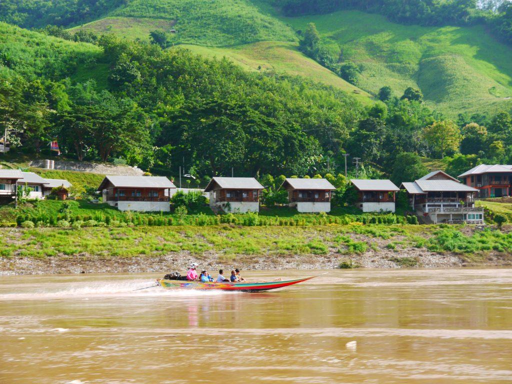 Luang Prabang to Chiang Mai by slow boat photo