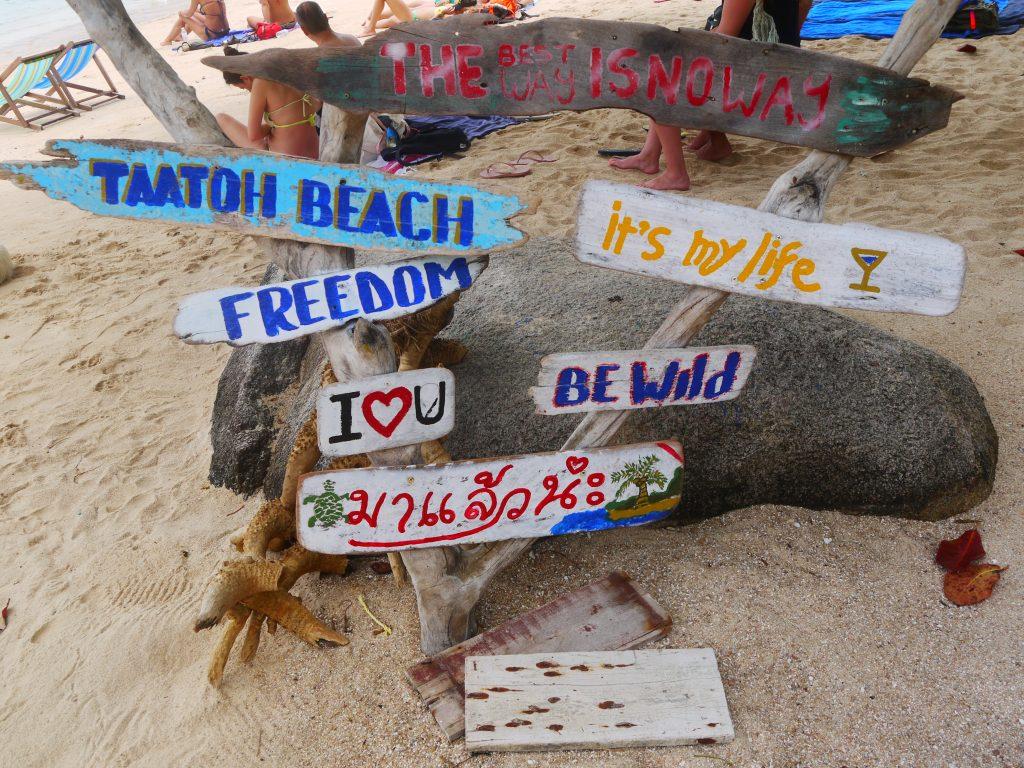 best beaches in Koh Tao