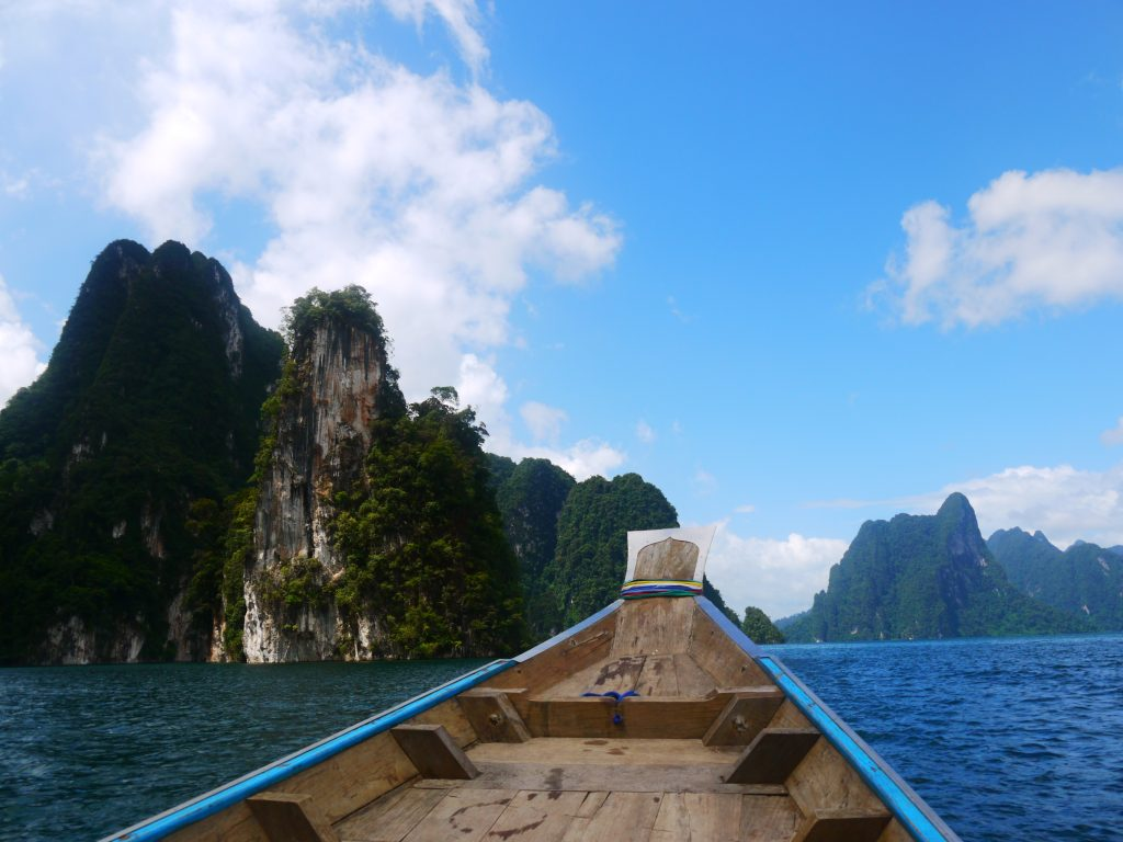 Khao Sok lake one day tour boat