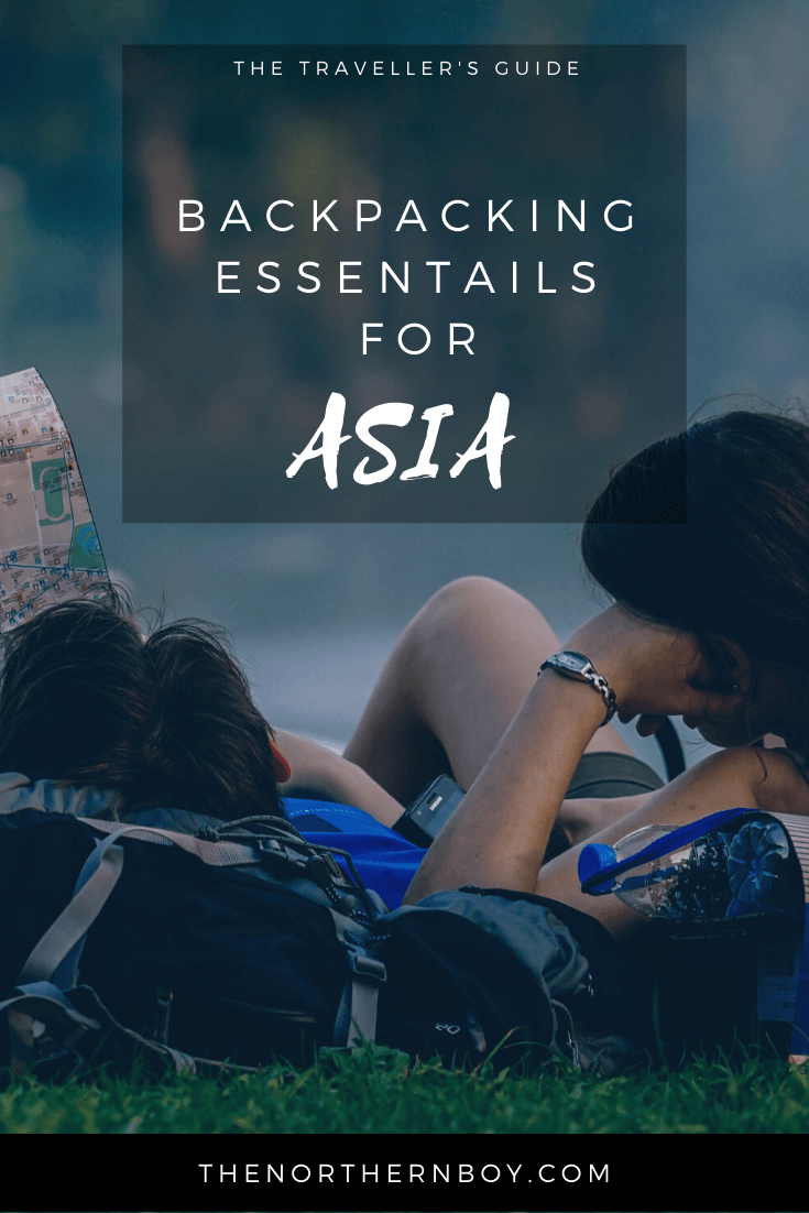 Backpacking essential item list for Asia, backpacking essentials, essentials for backpacking, backpacking 10 essentials, backpacking essentials list, backpacking checklist, backpacking gear, travel essentials, backpacking essentials
