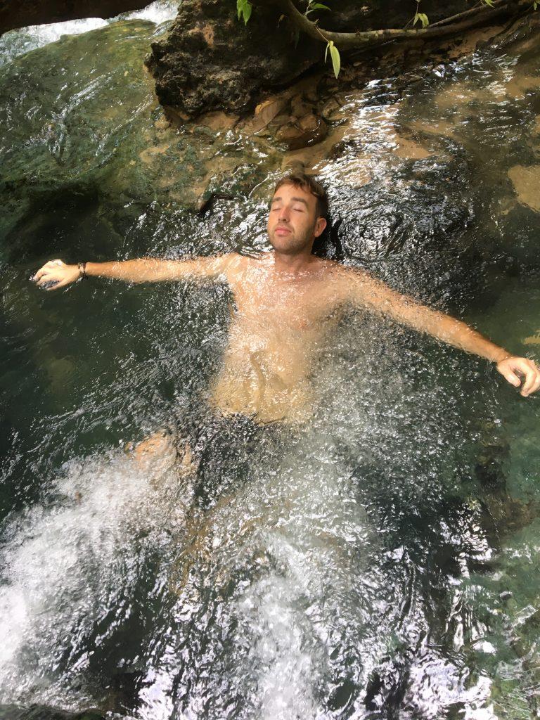 Krabi Hot springs and emerald poolrelaxing