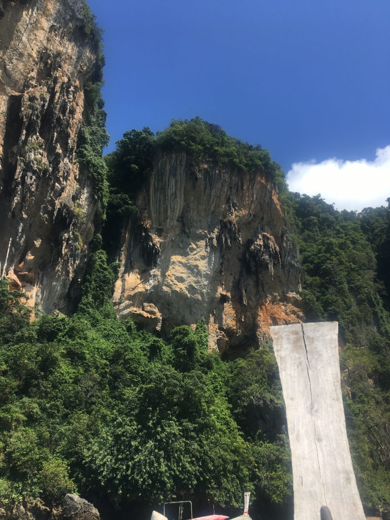 how to get from Ao Nang to Railay beach, railay beach, railay beach hotels, railay beach resorts, railay beach rock climbing, railay beach climbing, railay beach map, railay beach lagoon, krabi railay beach