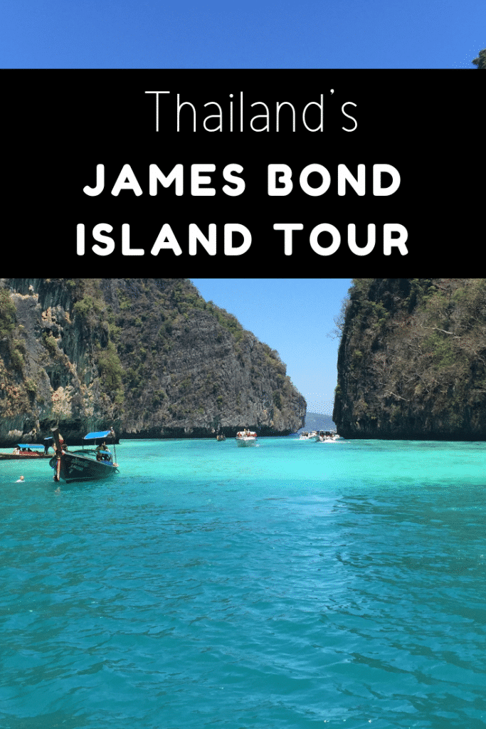 James Bond island movie tour Phuket