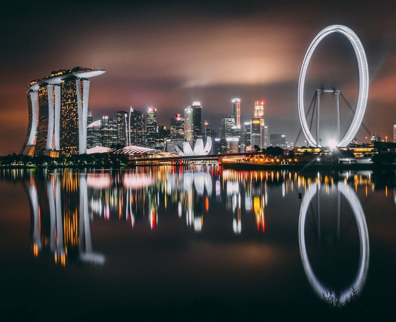 Singapore itinerary 3 days, Singapore flyer wheel