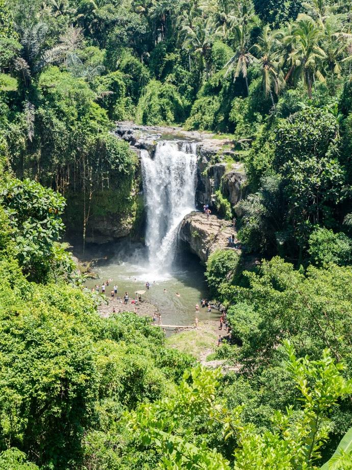 Tegenungan waterfall Bali, waterfall in Ubud