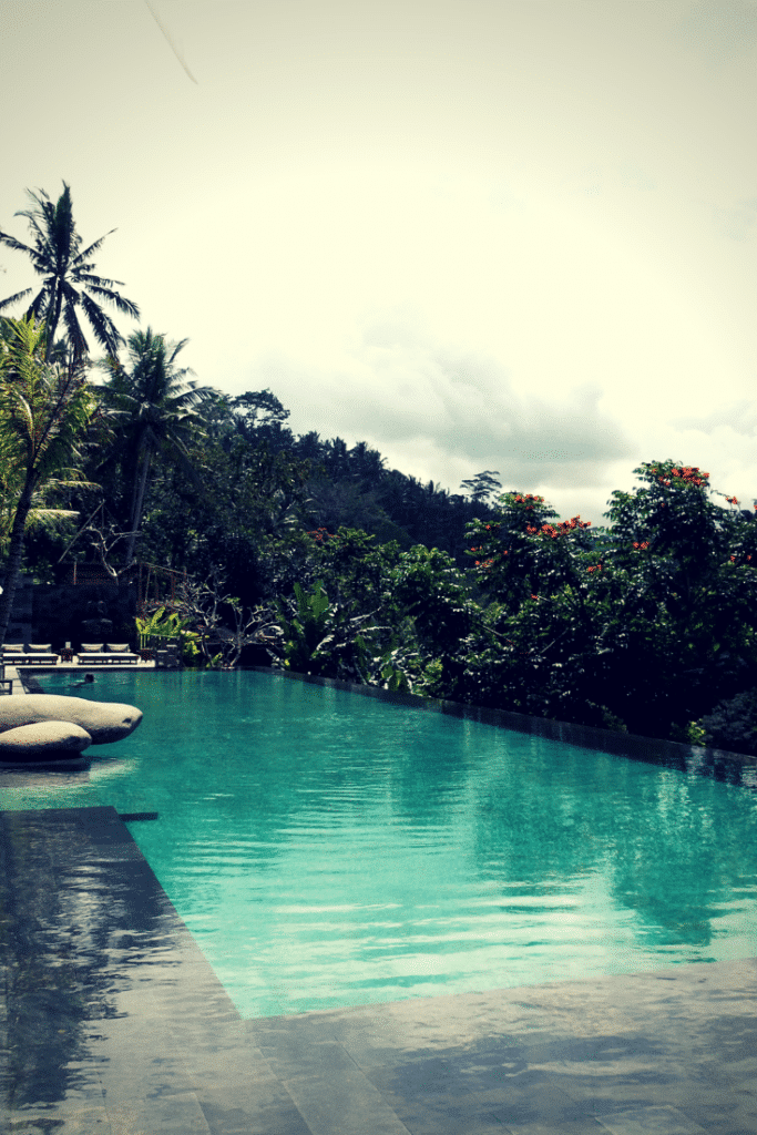 the awesome junglefish Bali, Chapung Sebali, hanging garden of bali, luxury swimming pool hotels Bali, Ubud hotels