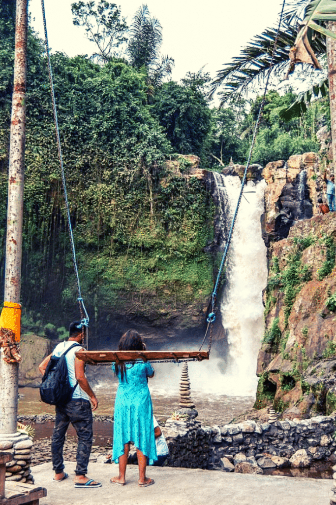 tegenungan waterfall swing, tegenungan waterfall bali, tegenungan waterfall entrance fee
