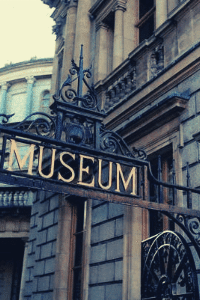 the awesome museum in Dublin