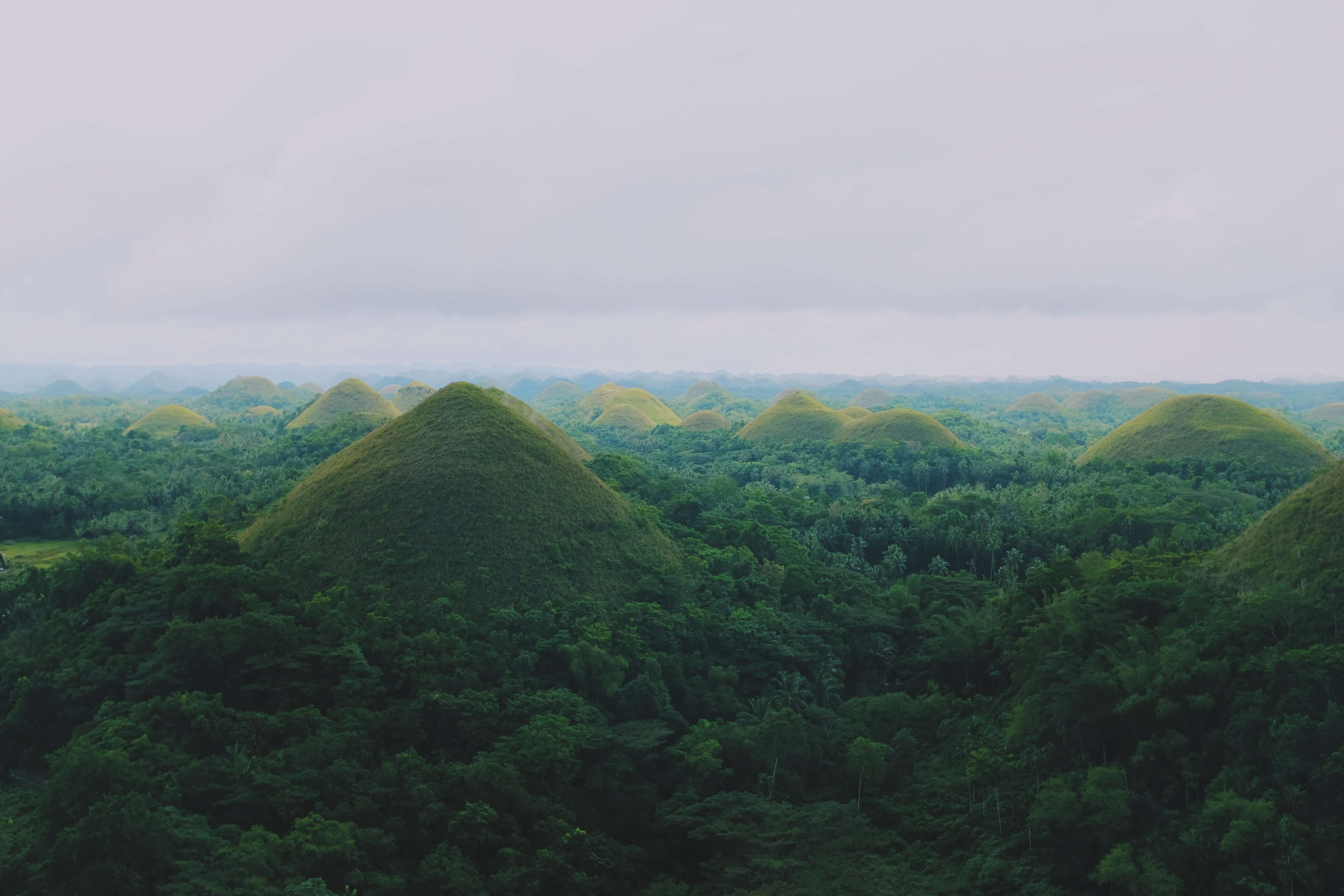 awesome images of the chocolate hills