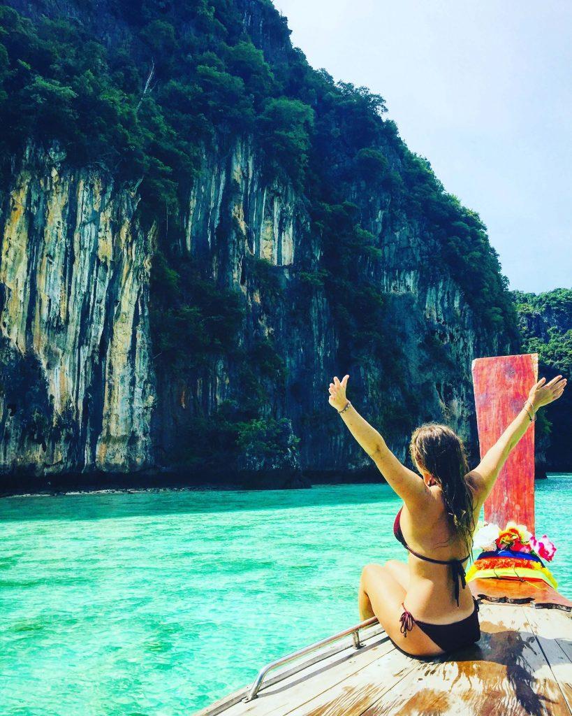 pileh lagoon thailand, pileh bay phi phi