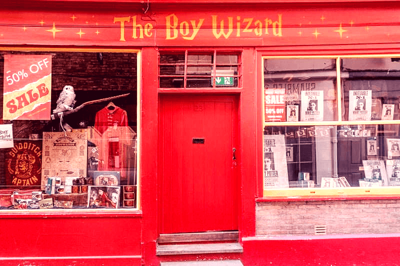 the boy wizard york, york harry potter