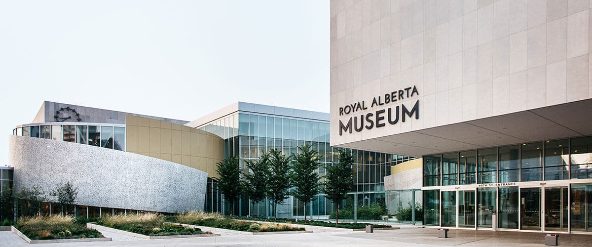 the amazing royal Alberta museum