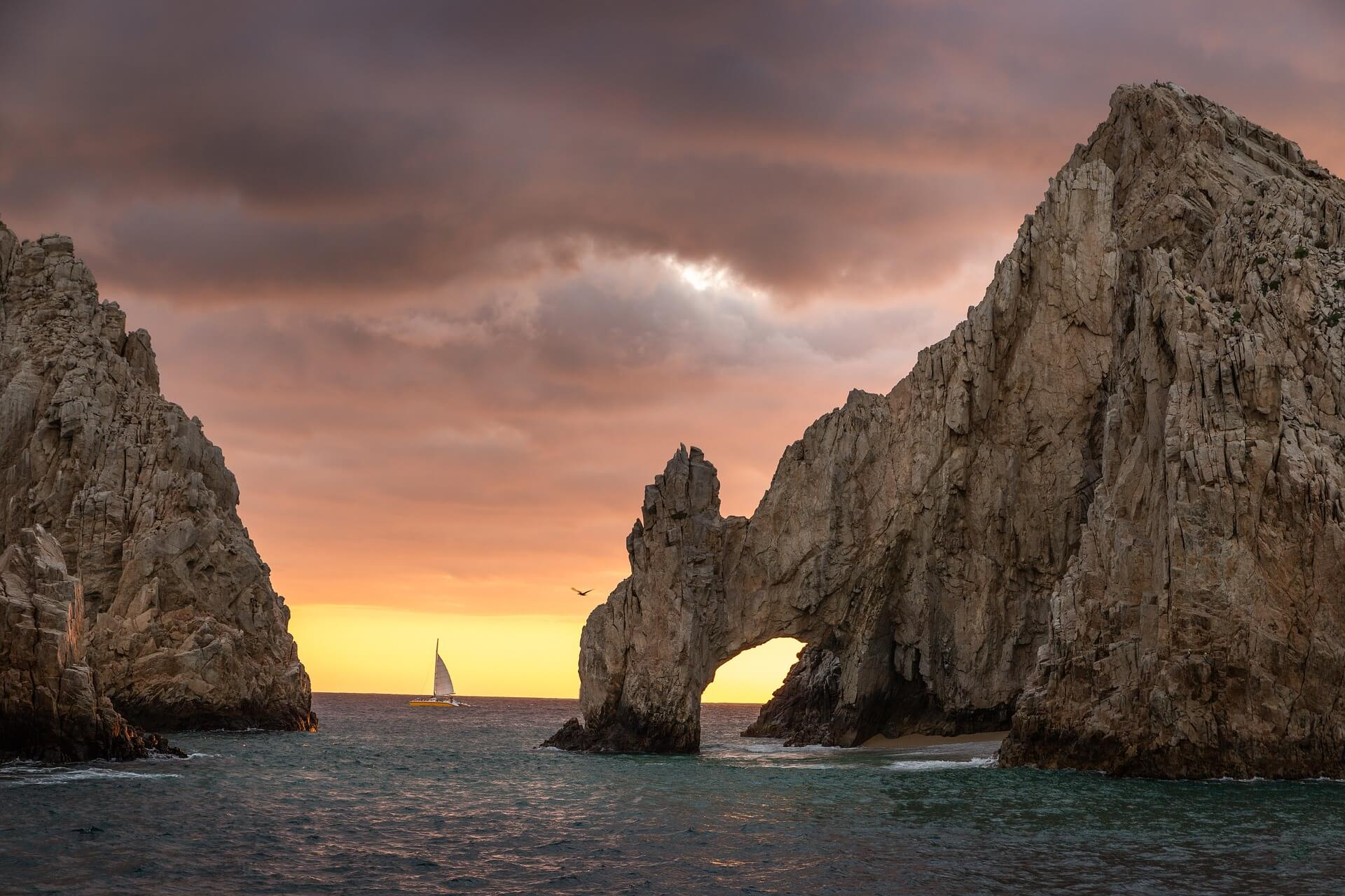 the amazing lover's beach in Cabo mexico