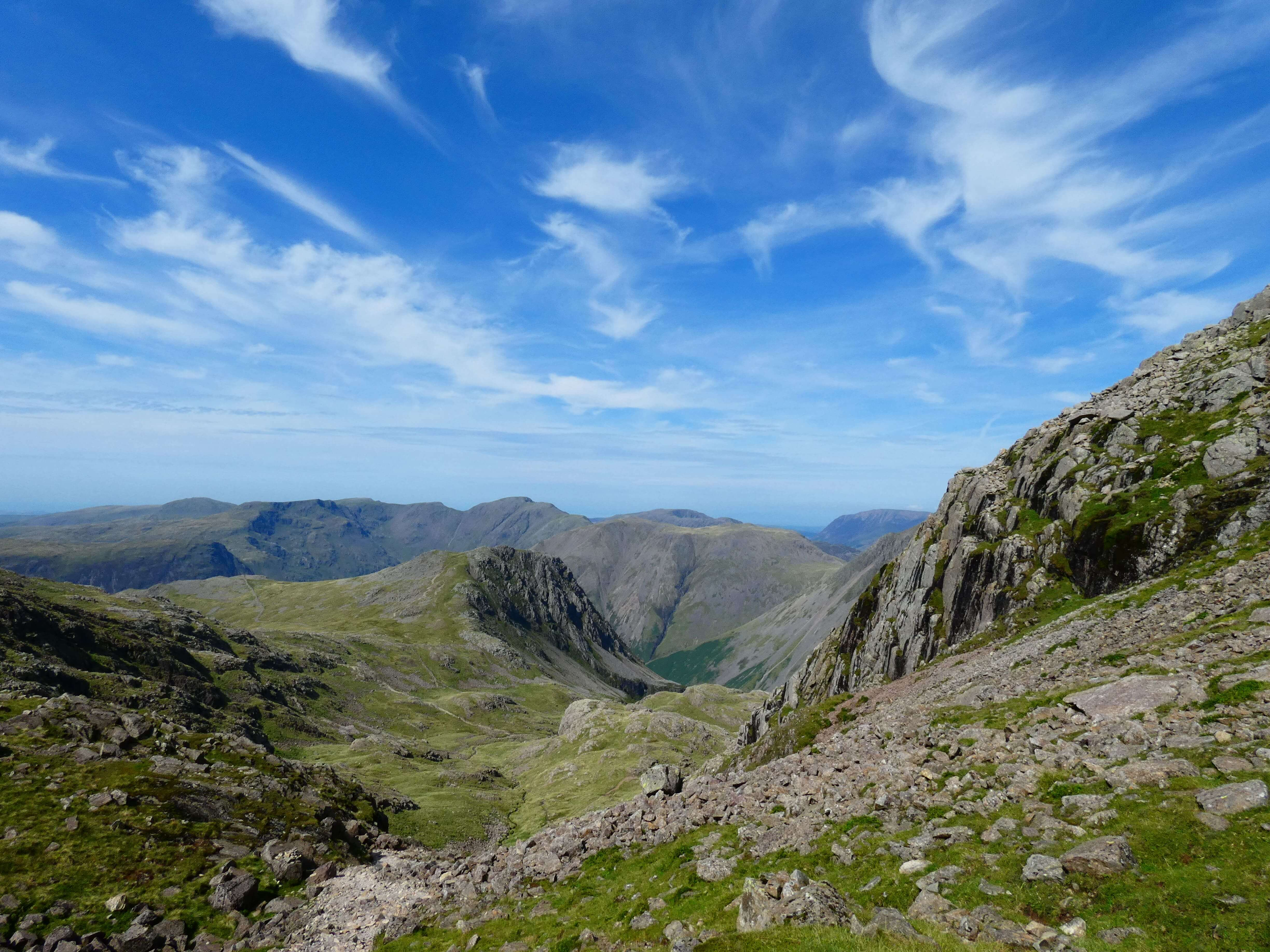 facts about the biggest mountain in England