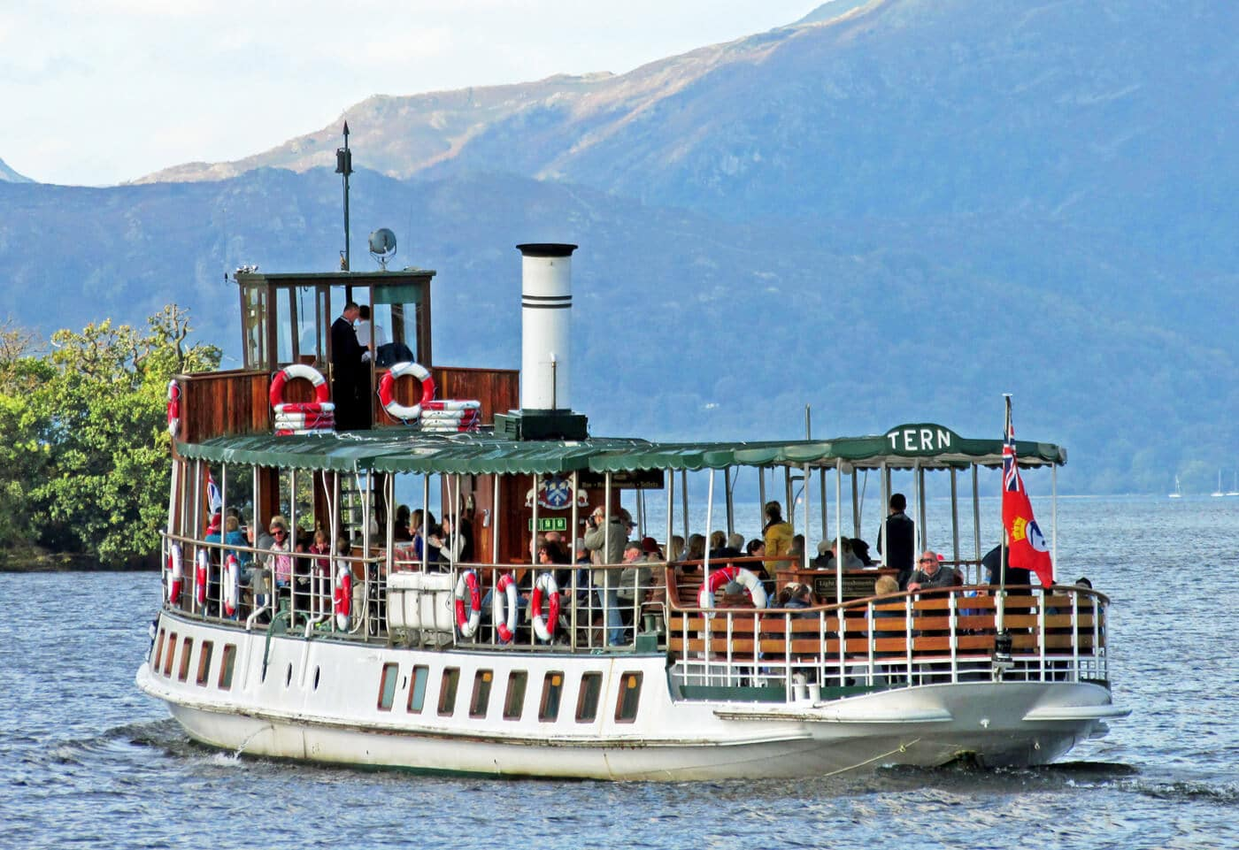 Ambleside boat ride windermere