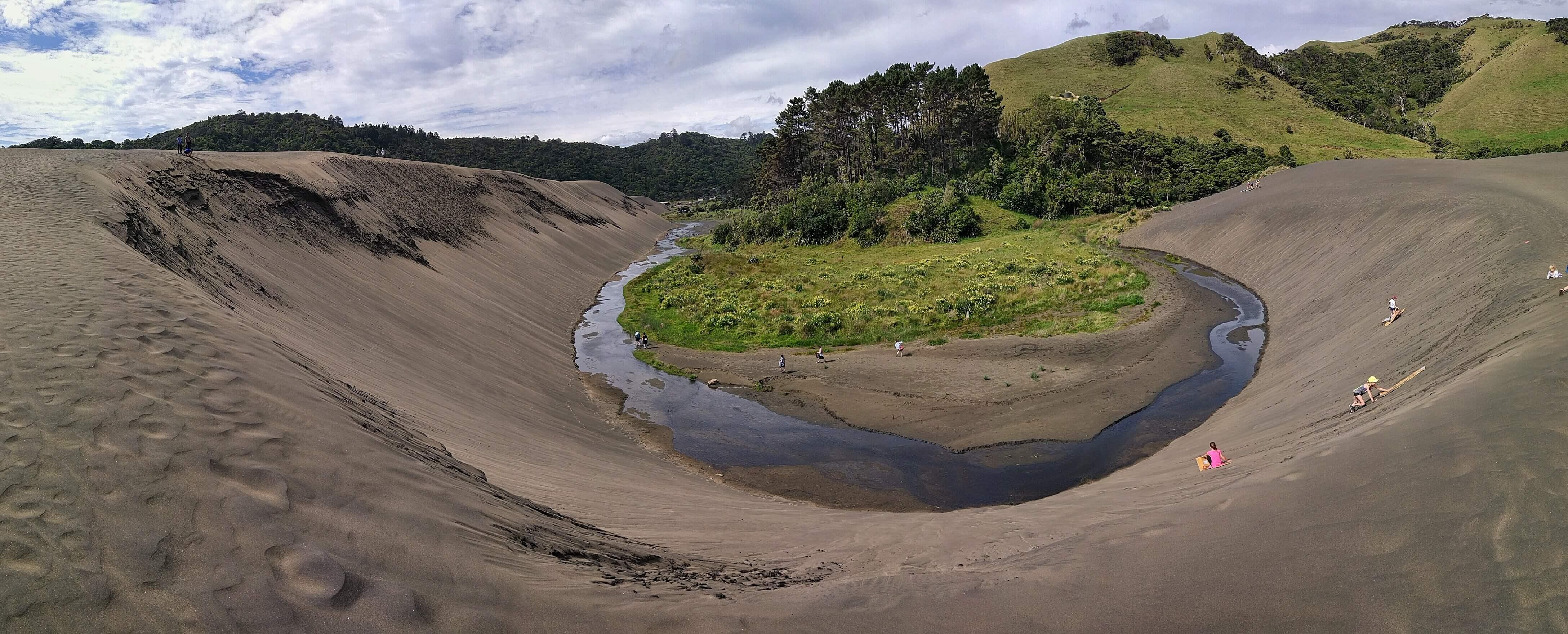 stunning photo of the lake wainamu