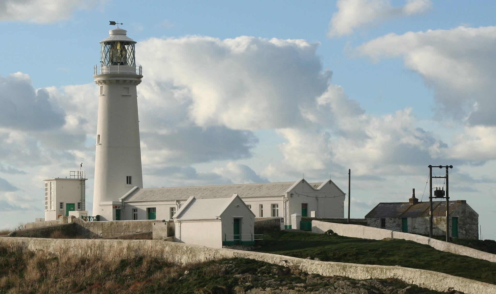 the Anglesey lighthouse is one of the best points of interest in Anglesey