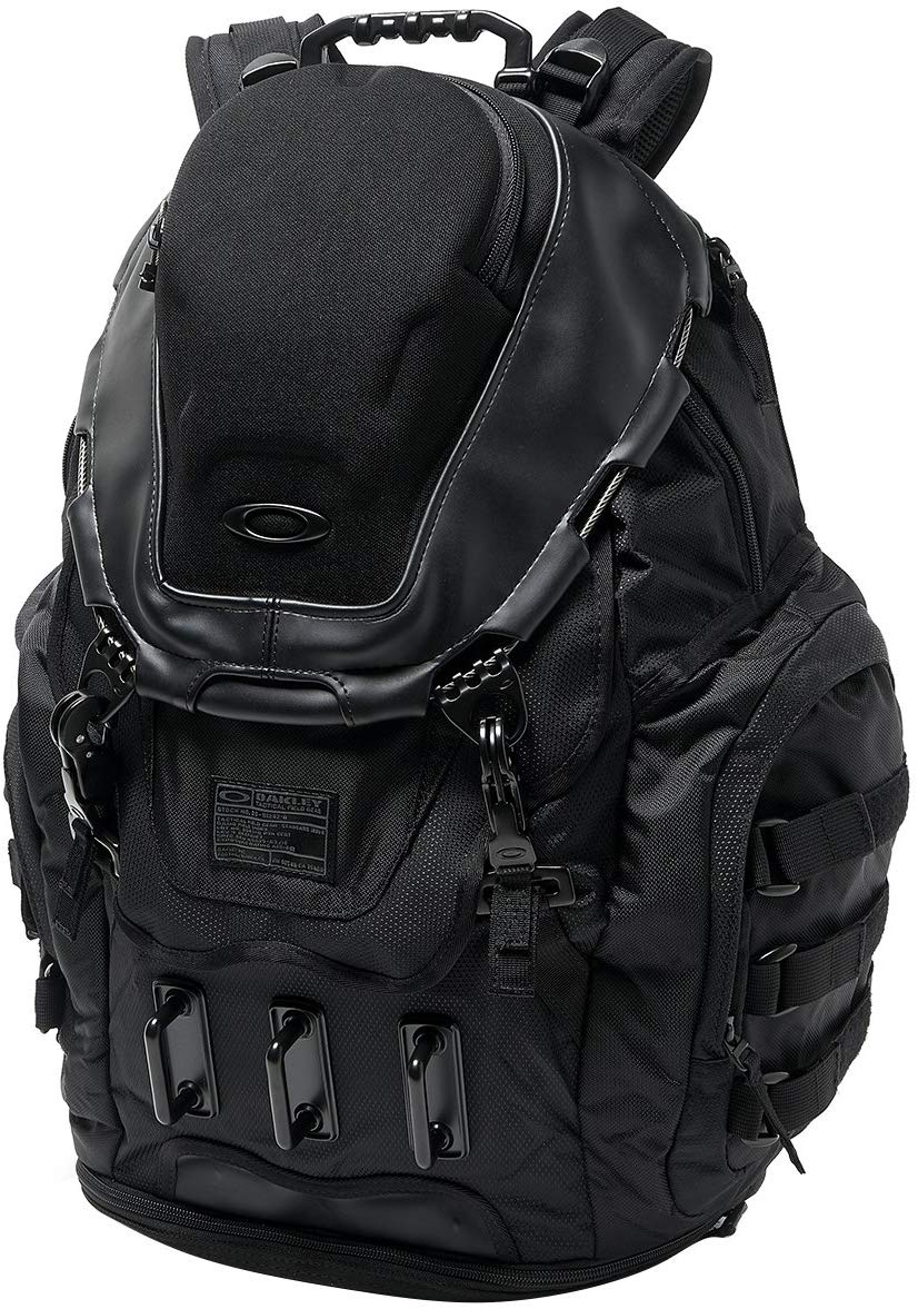 Photo of a black colour oakley kitchen sink backpack
