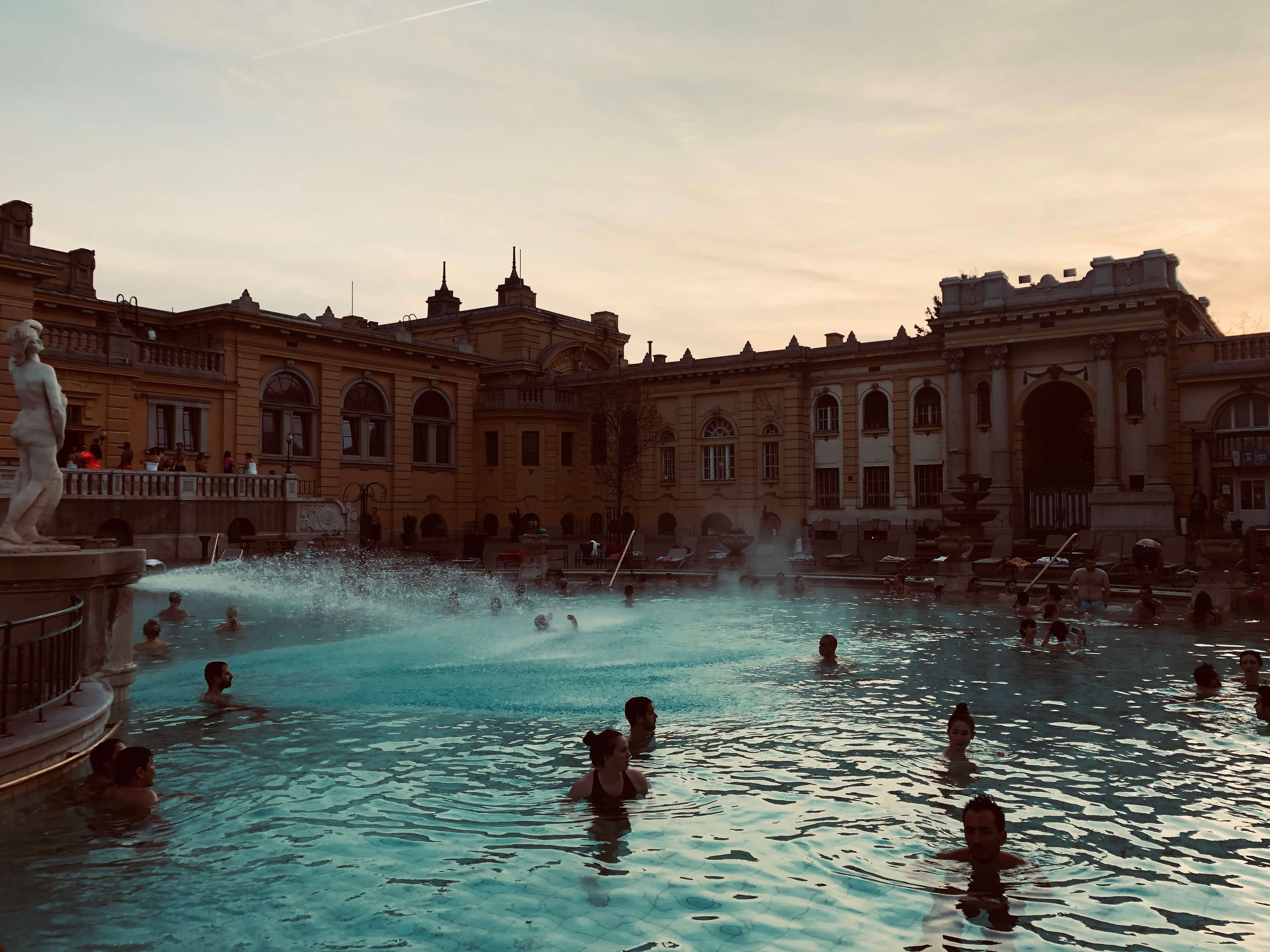 Szechenyi Spa thermal baths are amazing check out this photo