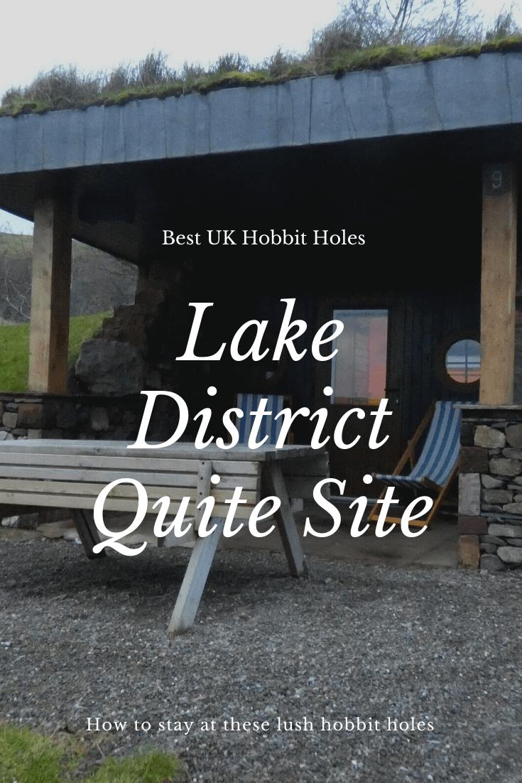 quiet site lake district pods, quiet site lake district glamping, lake district quiet site, the quiet site lake district hobbit hole, glamping quiet site lake district