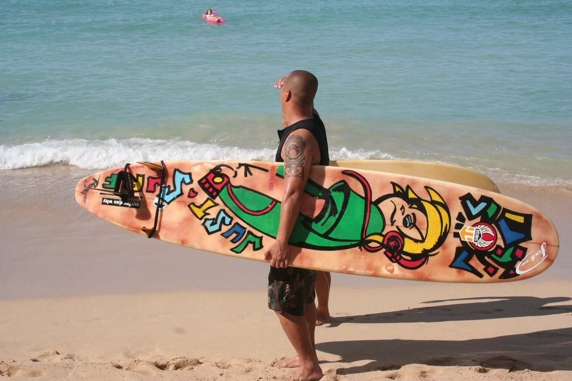 Surfing in Waikiki is one of the best things to do in Hawaii