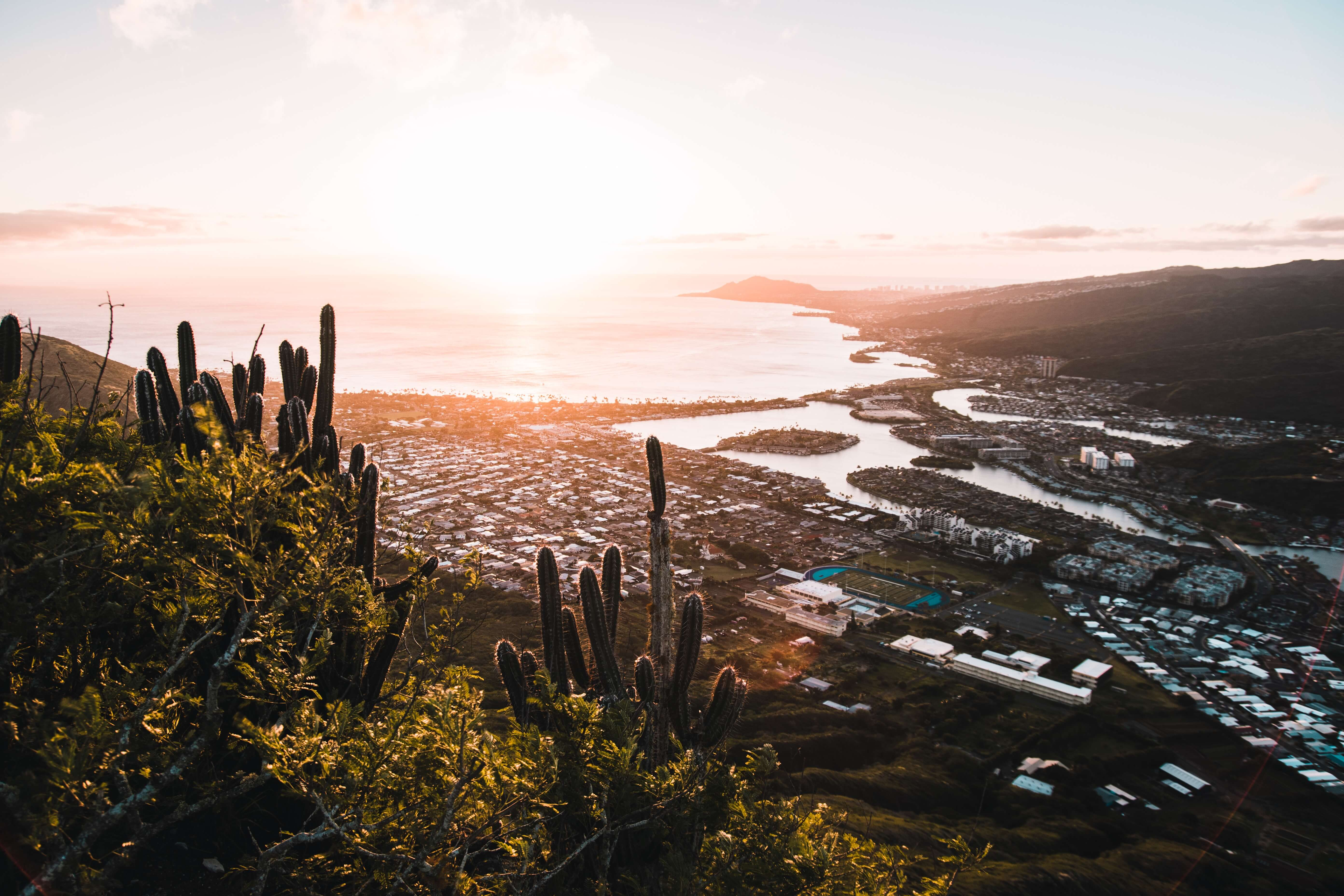 A photo of the beautiful Koko Head sunrise