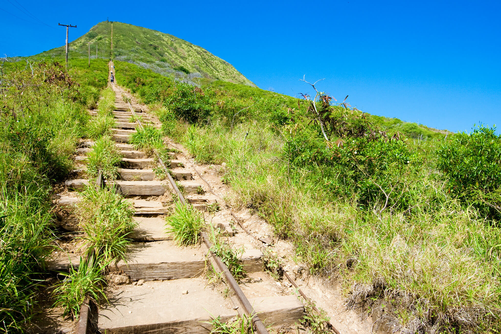 the Koko Head directions up the stairs of doom
