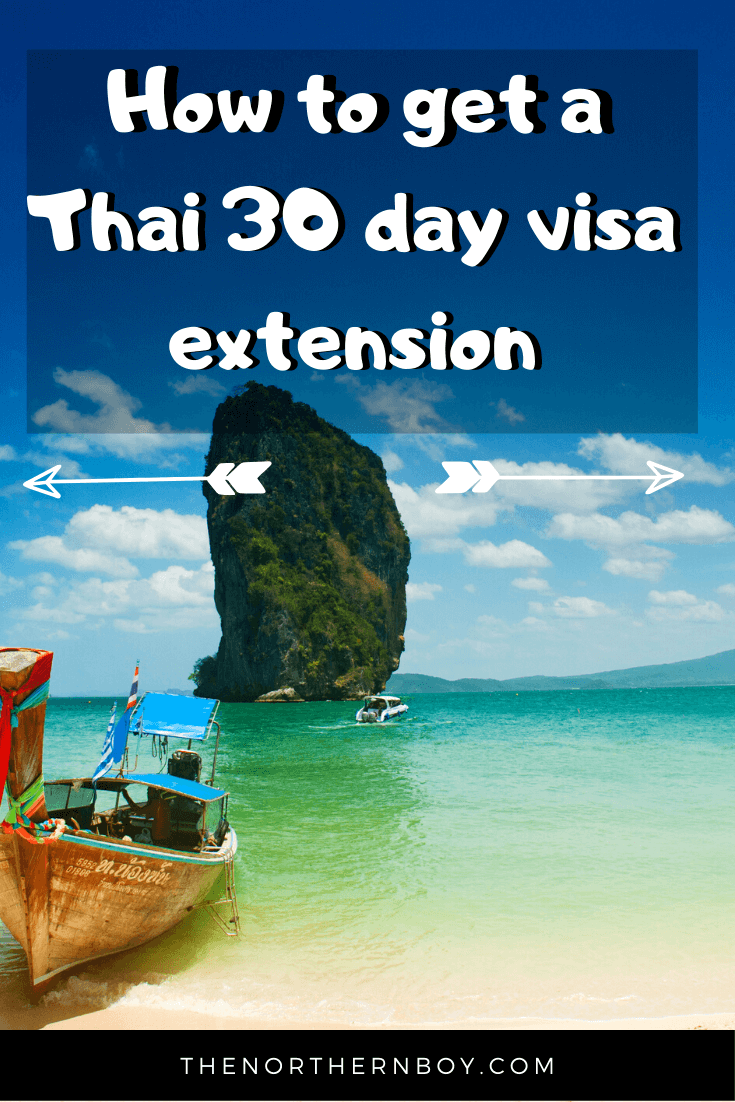 how to get a thai 60 day visa extension