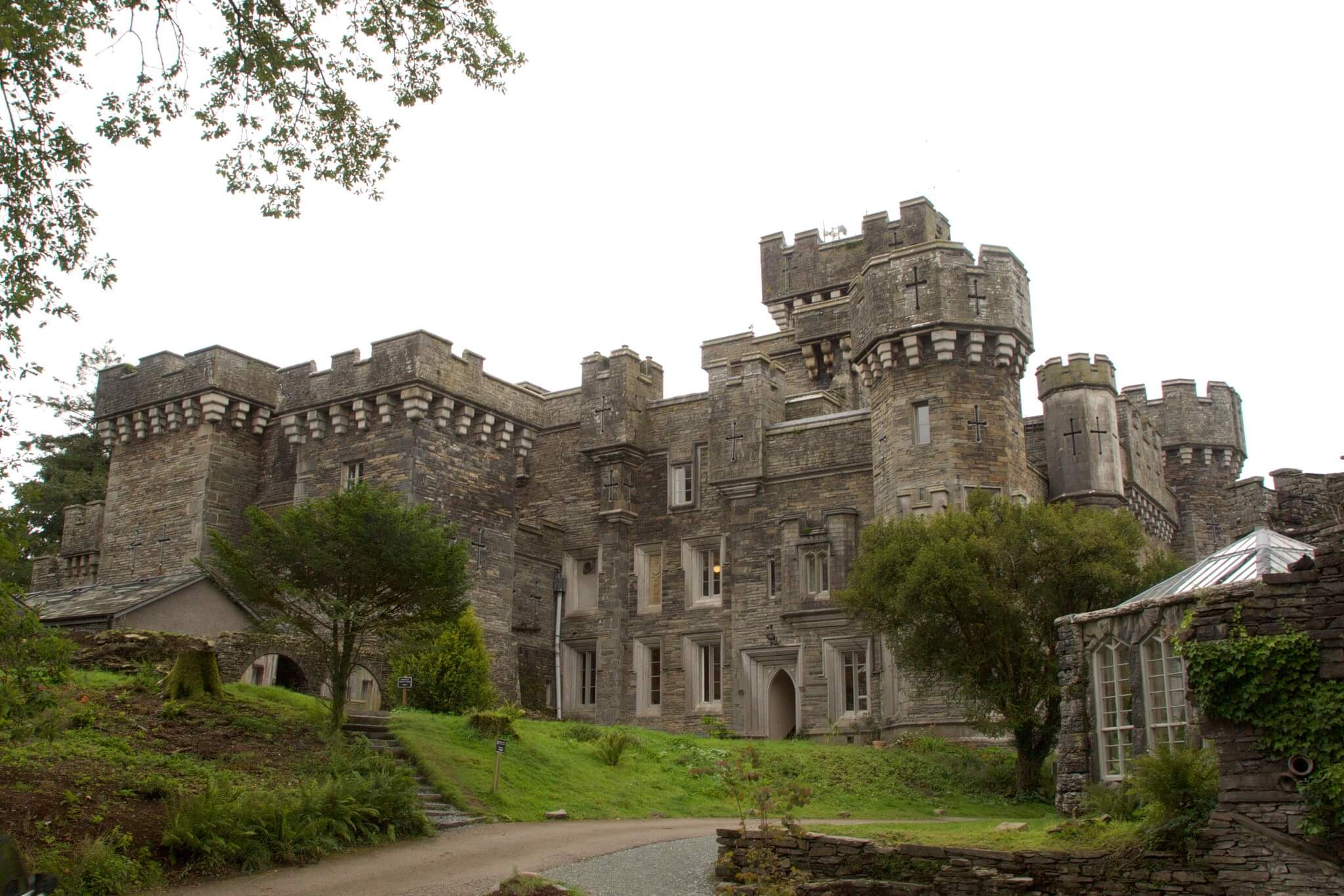 Wray Castle one for the best Lake Windermere points of interest