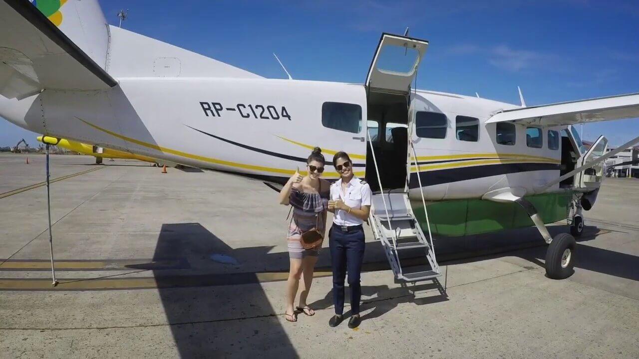 Getting the Air Juan plane to Bohol