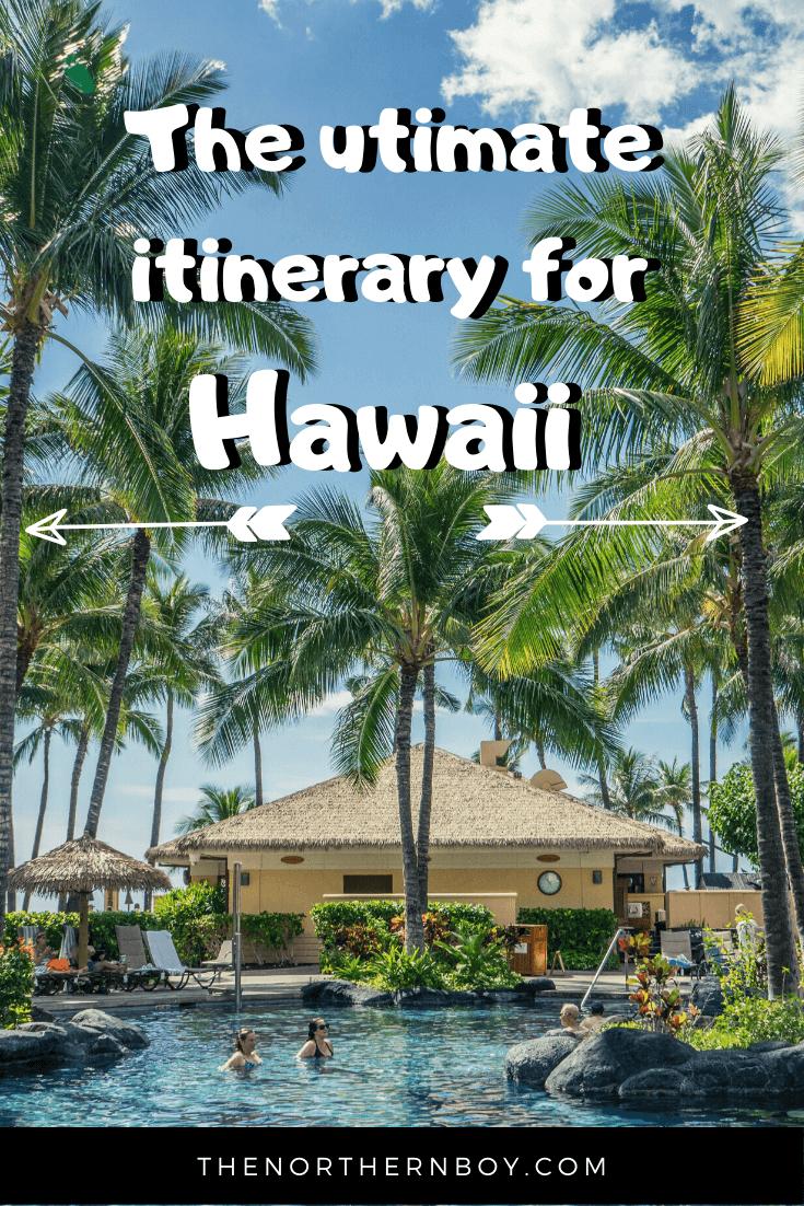 hawaii itinerary 2 week 14 days