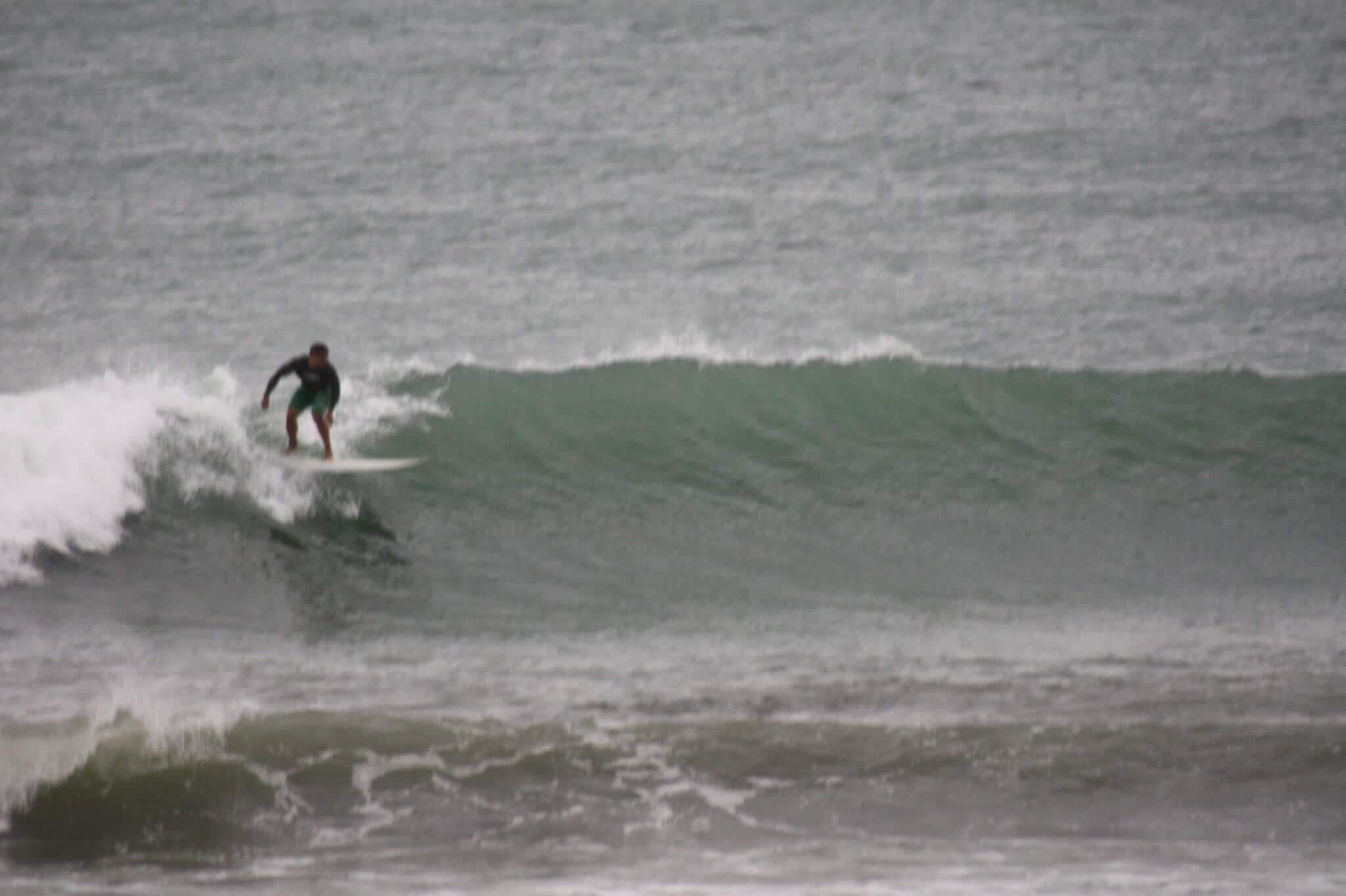 photo of the surfing activity in Raglan