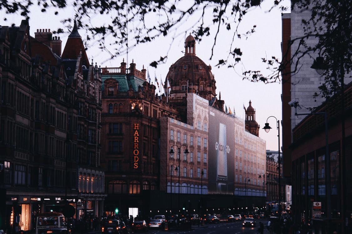 visiting harrods London