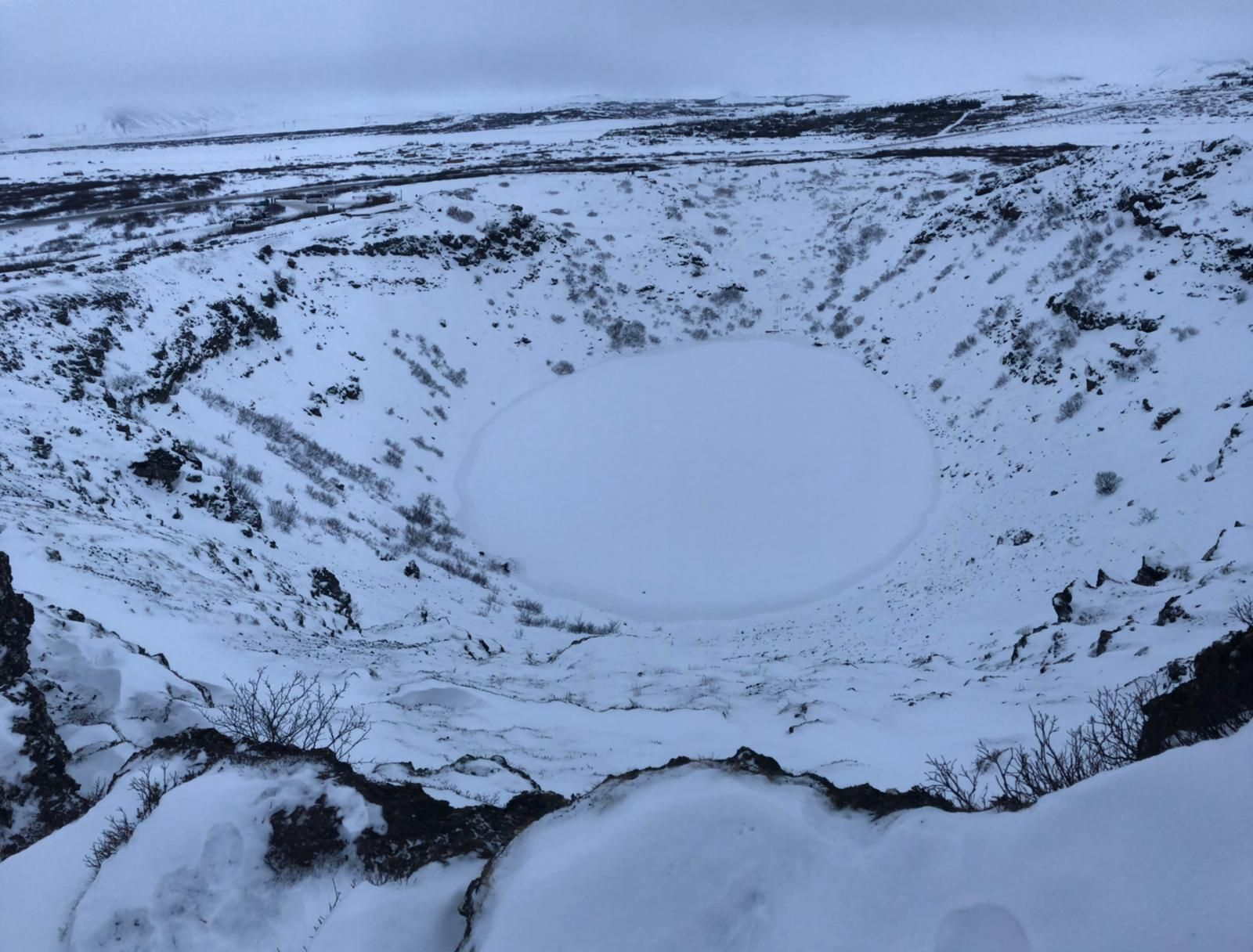 golden circle tour iceland kerid crater