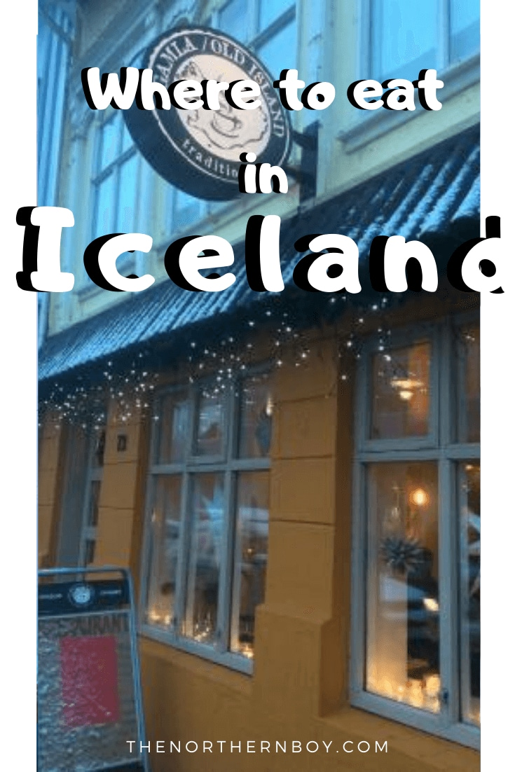 Best Places to Eat Reykjavik