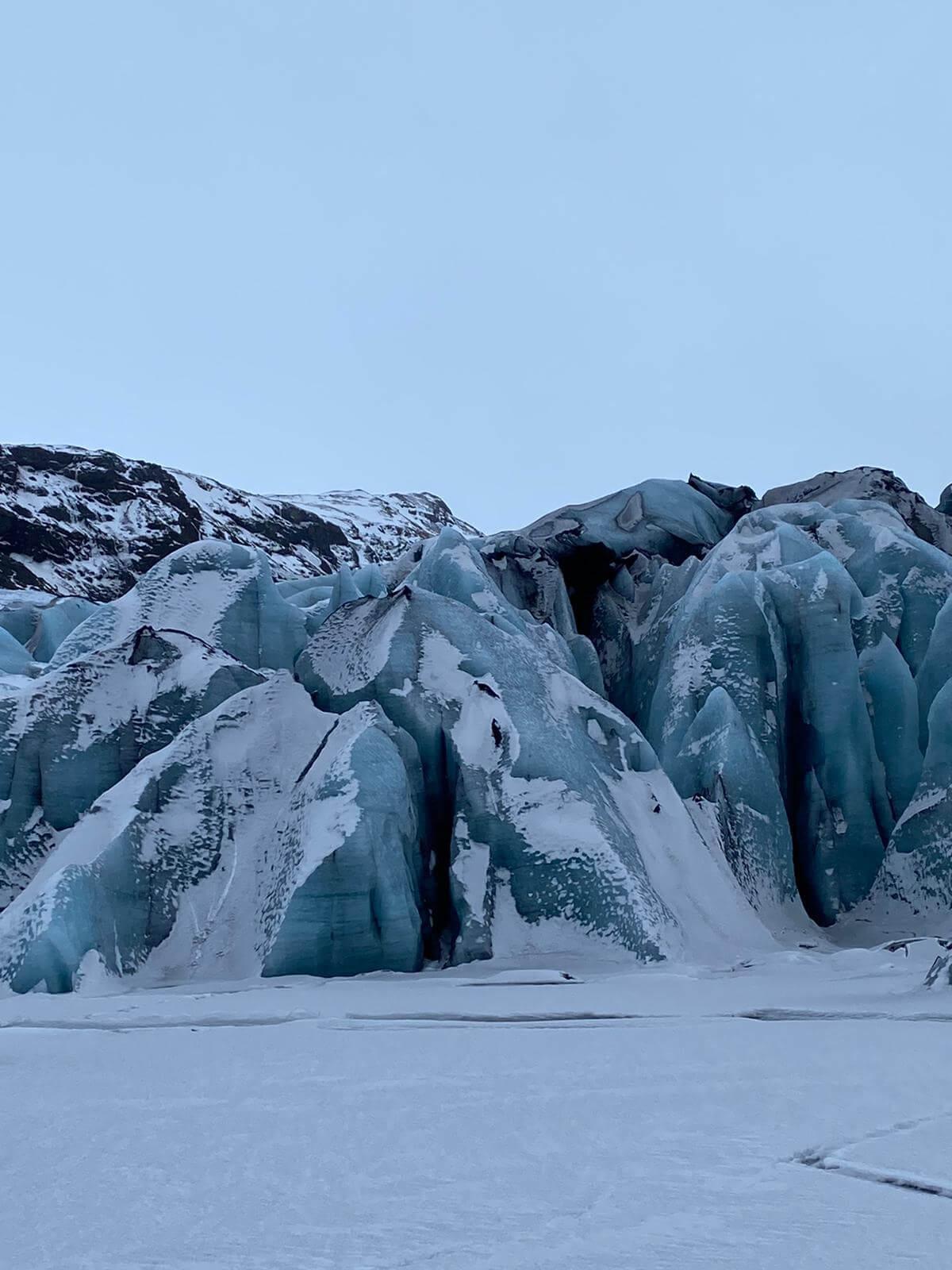 iceland glacier solheimajokull
