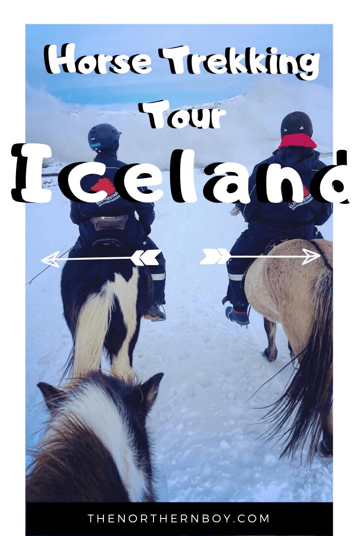 horseback riding south Iceland