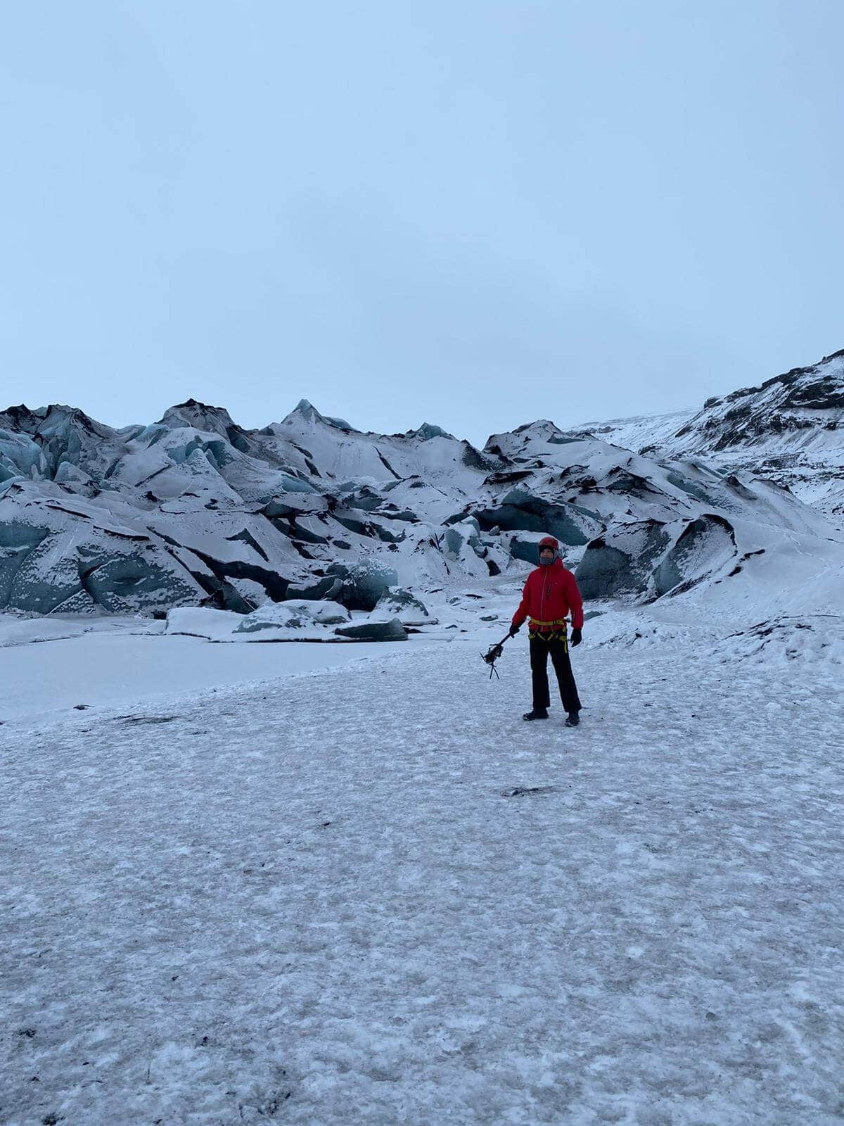 photo of the surreal extreme iceland glacier tour