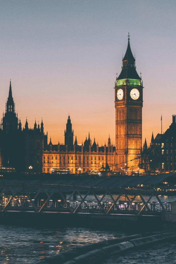 tourist spots in London